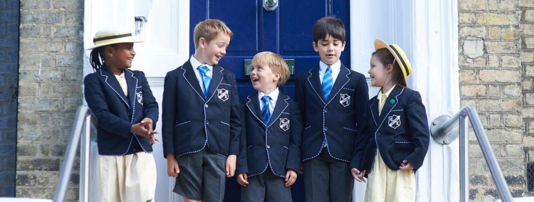 Prep school kids