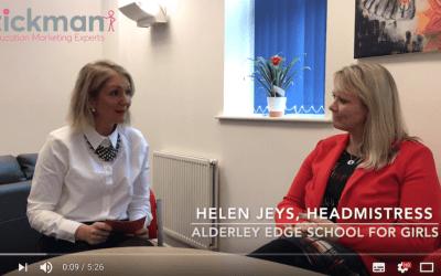 VIDEO: Stickman's interview with an inspirational Headmistress