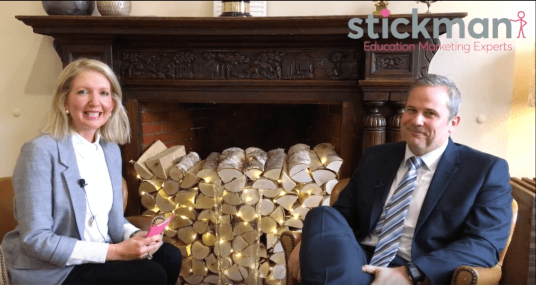 VIDEO: Stickman's fireside chat with the Headmaster of Terra Nova School, Cheshire