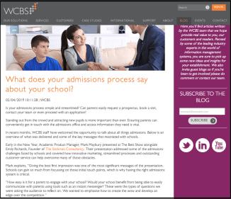 WCBS blog