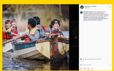 Thumb-stopping Content on Instagram from Aldro School
