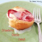 Strawberry Cheese Danishes