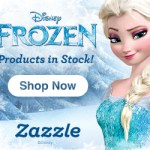 Disney Frozen Products Now at Zazzle.com!