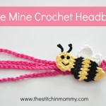 """Bee Mine"" Crochet Headband – Free Pattern"