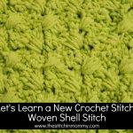Woven Shell Stitch Tutorial