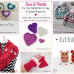 Love & Hearts! 15 Free Valentine's Day Crochet Patterns