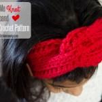 Love Me Knot Headband – Free Crochet Pattern