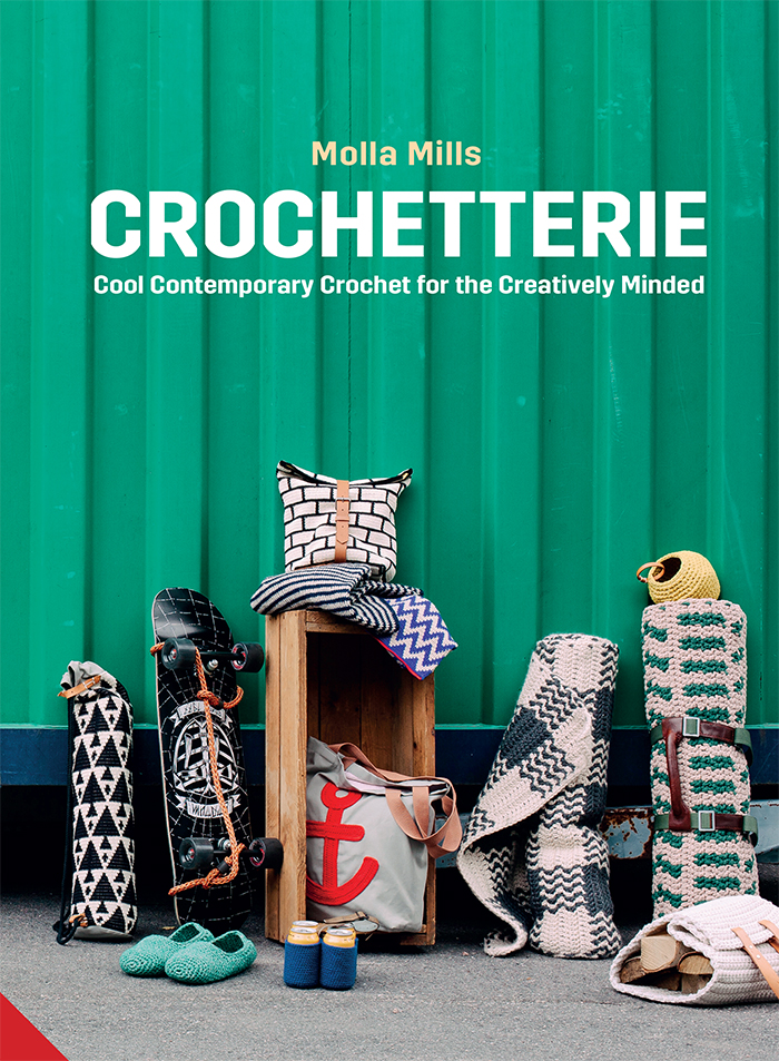 Crochetterie: Cool Contemporary Crochet for the Creatively-minded - Book Review | www.thestitchinmommy.com