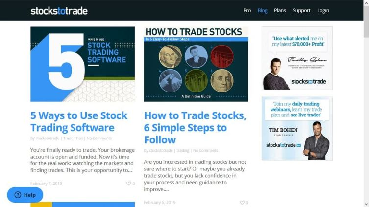 Stocks-To-Trade-Website