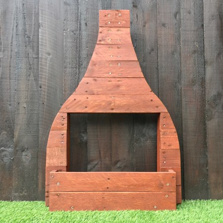 Bottleoven Garden Display Planter