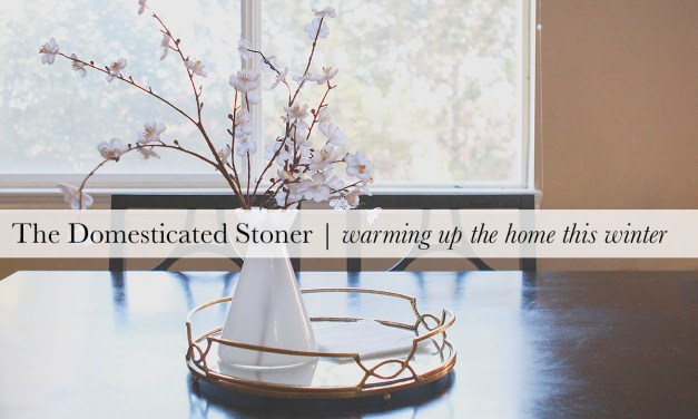 The Domesticated Stoner | Warming up the Home this Winter