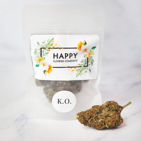 happy flower company hemp flower k.o.