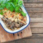 Creamy Mushroom, Beef & Almond Pies