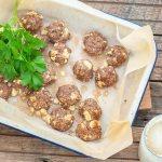 Feta & Meat Balls