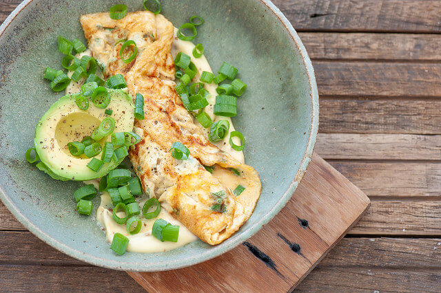 Japanese Omelette with Miso Mayo
