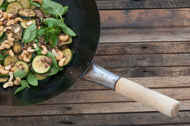 One Pot Beef, Zucchini & Cashew Stir Fry Recipe