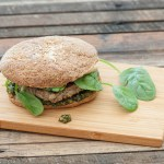Pesto Chicken Burgers Recipe