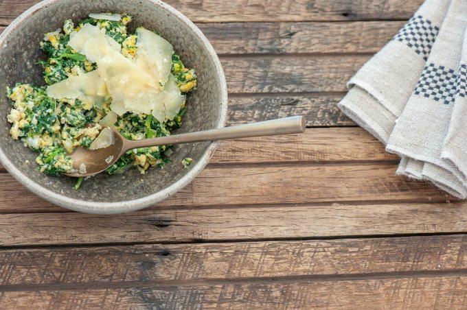 Plan-B Spinach & Eggs