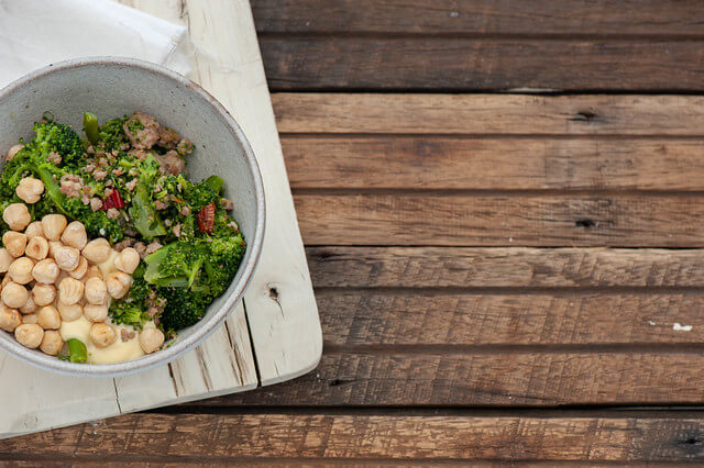 Sausage, Broccoli & Chilli Bowls