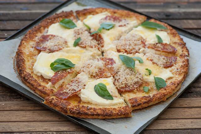 The Salamino Cauliflower 'Pizza'