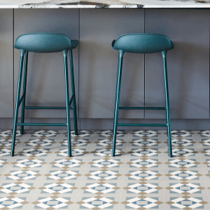 Brompton Kensington Porcelain In a dining area
