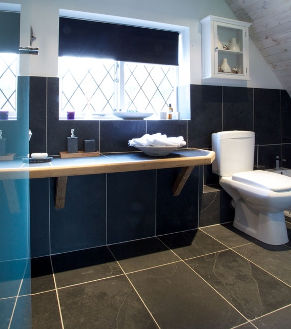 Metropolitan Slate Riven Finish bathroom wall tiles