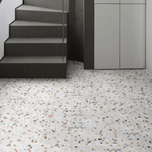 Modella Granella Multi Porcelain At the foot of the stairs