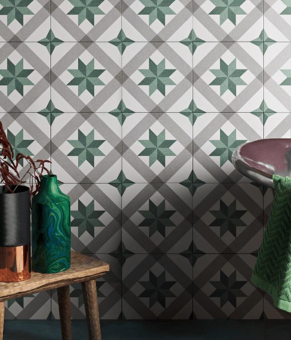 Moroccan Impressions Joya Green Wall Tiles