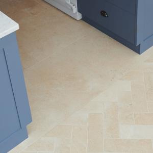 Neranjo Limestone Brick Velvet Finish Close Up
