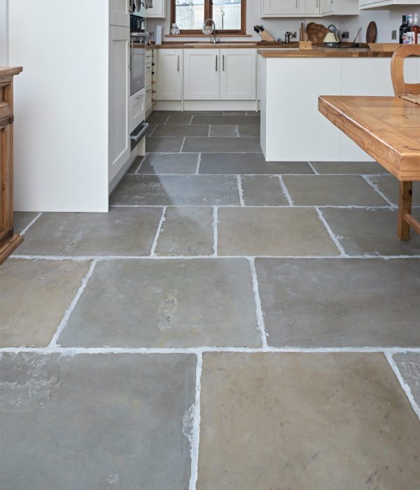 Old Westminster Sandstone Worn & Patinated Finish kitchen and diner