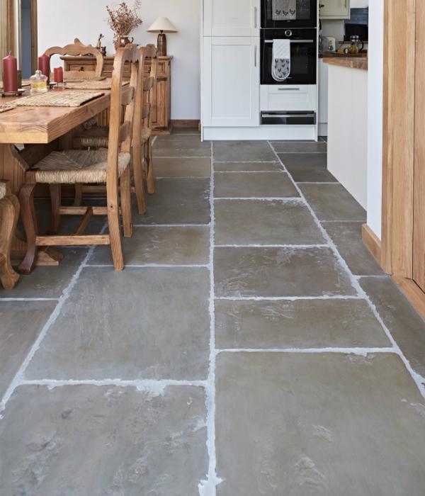 Old Westminster Sandstone Worn & Patinated Finish kitchen