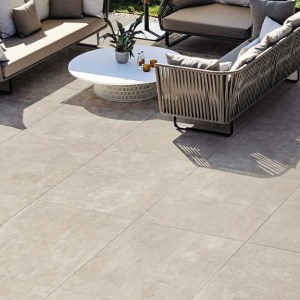 Colosso porcelain patio paving