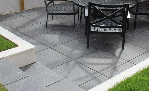Di Pietra porcelain patio paving