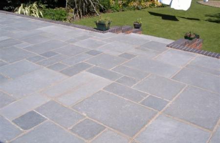 natural stone patio pavers