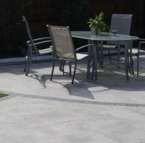 Birch natural granite stone patio paving