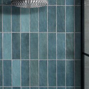 aqua gloss ceramic handmade tiles