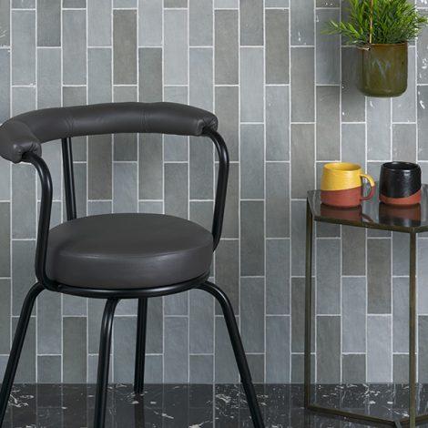Light Grey Handmade ceramic gloss Tiles