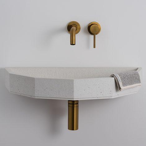 cement hand basin