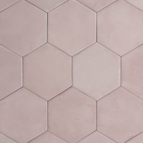 rose pink porcelain wall and floor tiles