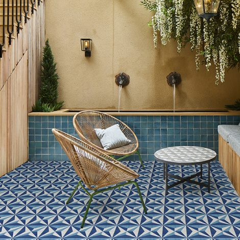 porcelain wall and floor tile