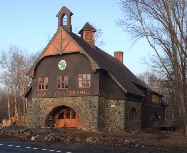 Darlington Schoolhouse.  The workshop will build a dry stone wall between the road and the front of the schoolhouse