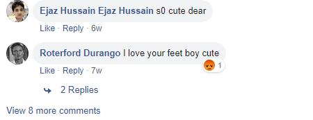 Post four comments