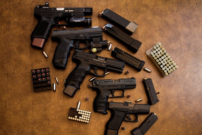 guns, ammunition, weapons