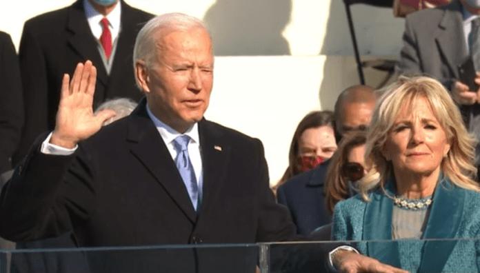 Biden Sworn In