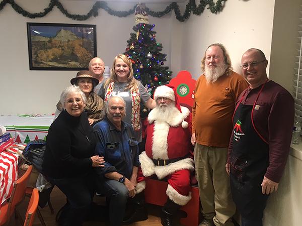 Mark Twain Christmas Party