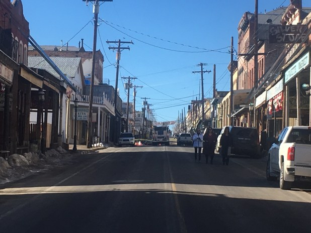 Explosion Rocks Virginia City