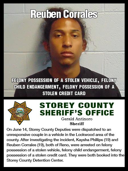 SCSO Arrest Blotter June 10-23 – The Storey Teller