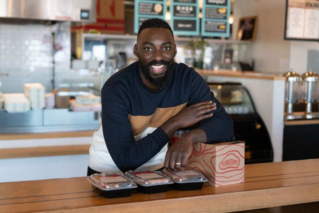 Behind the Scenes with Territory Foods x Chef Eric Adjepong