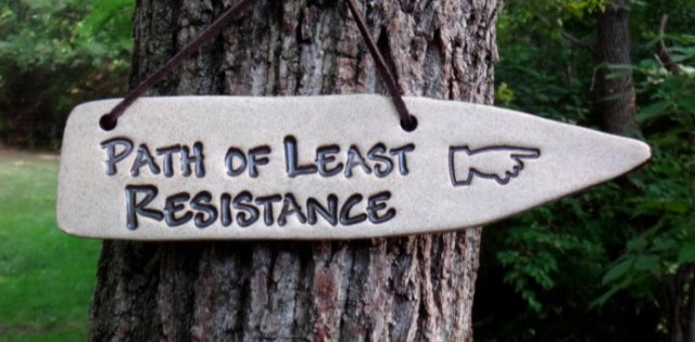 Owning your story with the path of least resistance