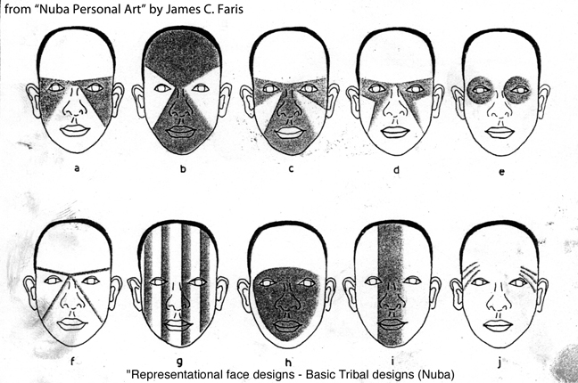 Tribal Facepainting Concept « the story behind the faces